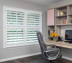 Heritage Shutters in an Office